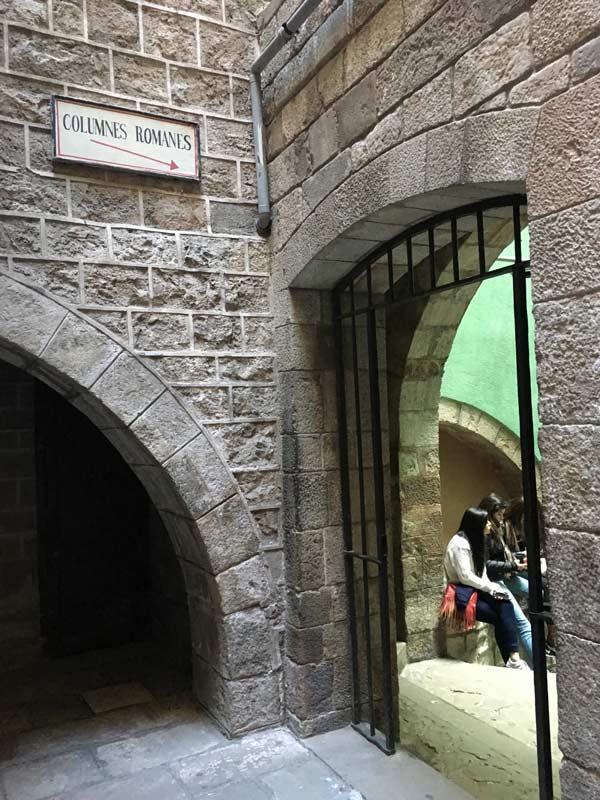 columnes-romanes-barcelona