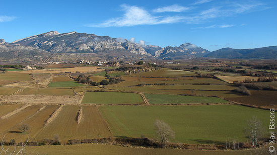 Vista sensacional des del Mont de Conques (Pallars Jussà). © Xavi Basora