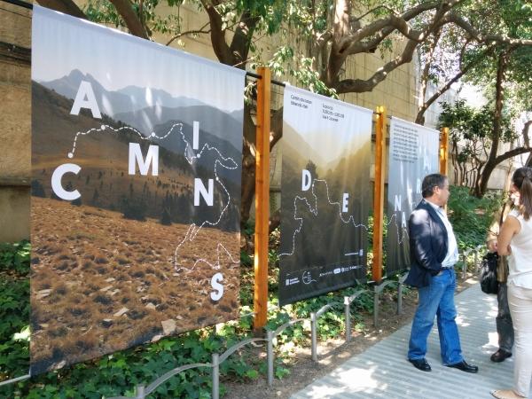 L'exposició convida a passejar pels jardins del Palau Robert. © Xavi Basora