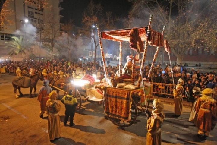 Cavalcada de Girona. Foto Marc Martí
