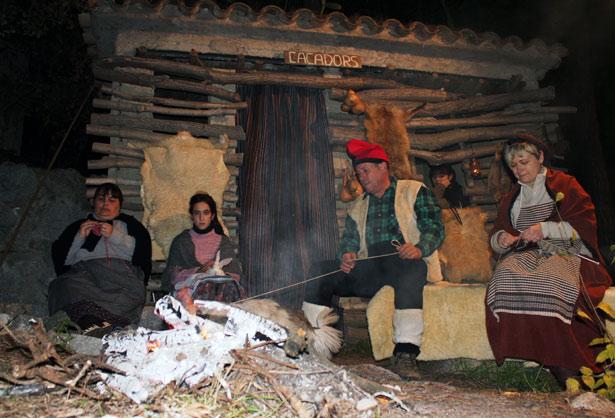 Pessebre vivent de Sant Fost. Foto La Veu de Sant Fost