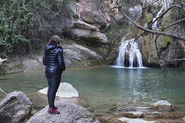 Rutes per les Muntanyes de Prades, riu Glorieta