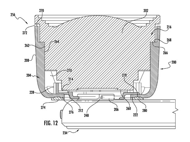 Imatge de la patent d'Apple